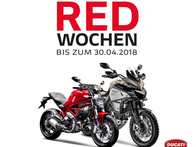 Ducati More than red -Wochen