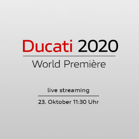 Ducati 2020 - World Premiere - Livestream