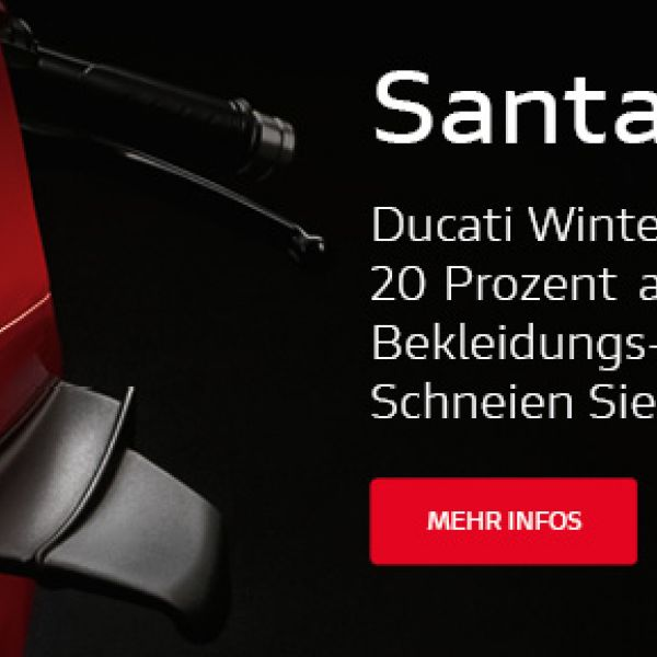 Ducati Winter Aktion 2019