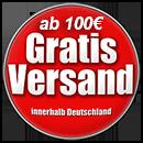 Ab einem Bestellwert von 100,- Euro liefern wir innerhalb Deutschlands versandkostenfrei.