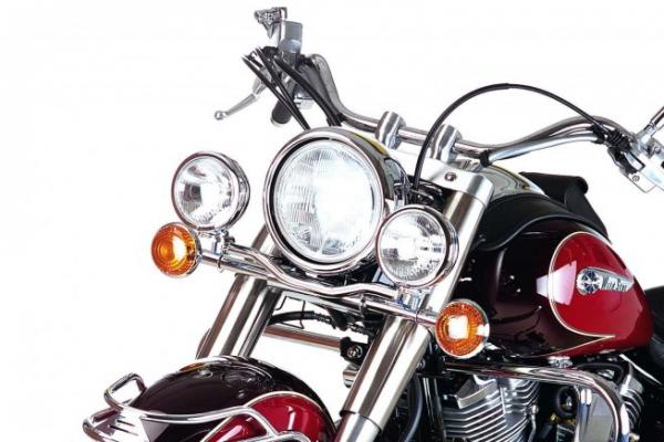 Hepco & Becker Metall Twinlight-Set Yamaha XV 1600 Wild Star chrom