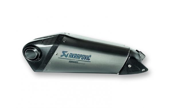 Ducati Akrapovic Racing Schalldämpfer aus Titan Panigale V2