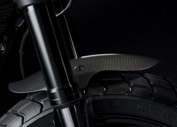 Ducati Original kurzer vorderer Kotflügel aus Kohlefaser für Scrambler 800