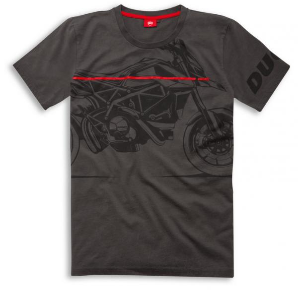 Ducati Original RED LINE T-SHIRT