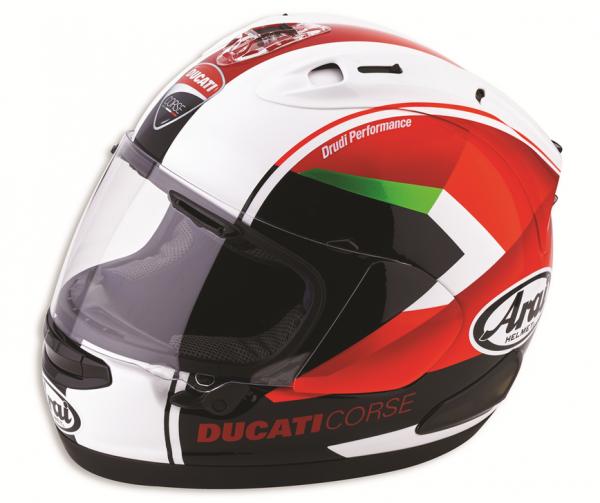 Ducati Arai INTEGRALHELM RED ARROW ECE