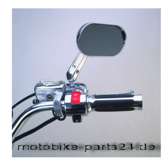 Big Bike Parts SCHALTER ABDECKUNG CHROM Rechts&Links VT Modelle