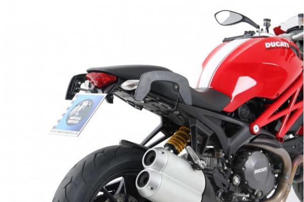 Hepco & Becker C-BOW Softgepäckhalter Ducati Monster 1100 evo schwarz