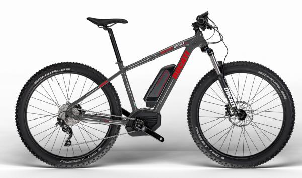 Ducati Original Mountainbike MTB SCR 200 PLus SHIMANO Matt Graphite