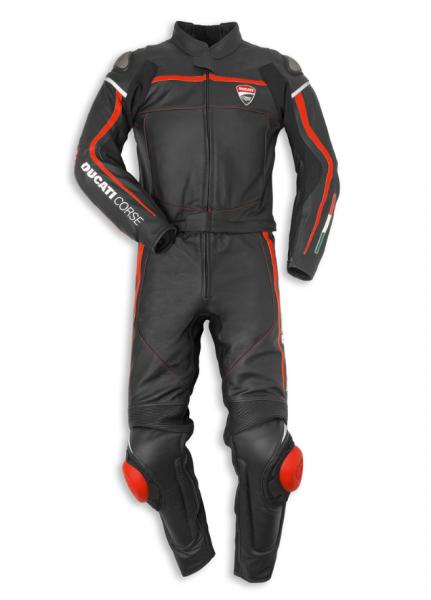 Ducati Corse14 zweiteiliger Lederkombi Gr.54