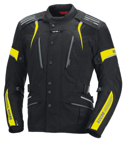 iXS-Damenjacke Nemesis schwarz-fluo gelb