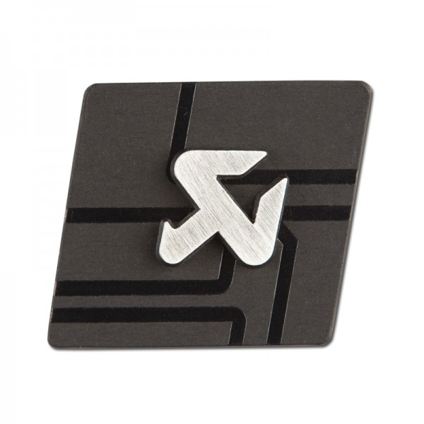 Cut silver pin