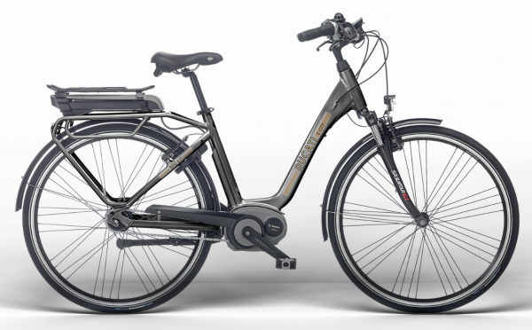 Ducati E-CITY Bike SHIMANO Matt Graphite
