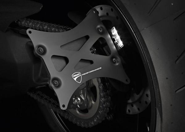 Ducati Original seitlicher Kennzeichenhalter für Diavel