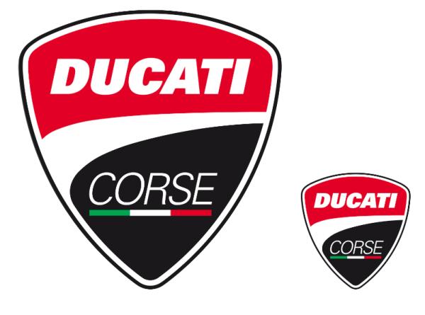 Ducati Original Corse LOGOS AUFKLEBER