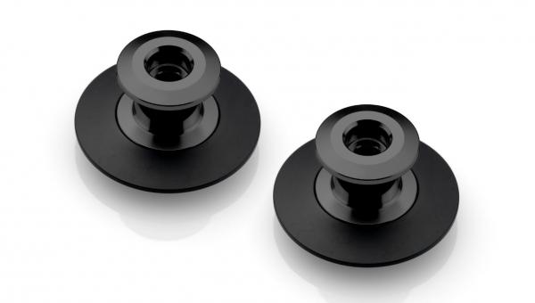 Rizoma SC020B Montageständer-Adapter schwarz