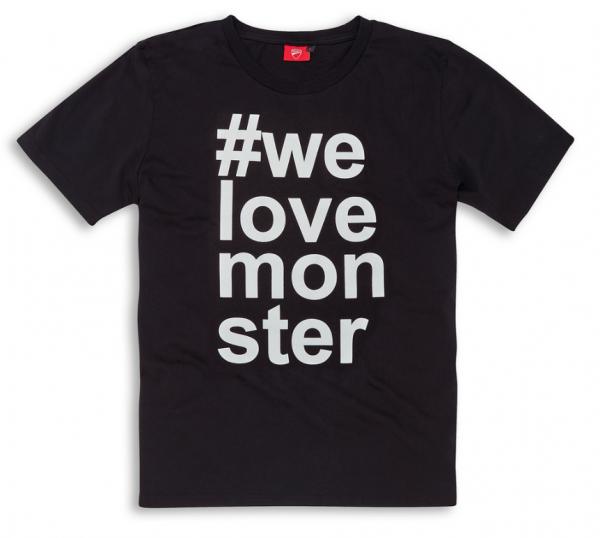 Ducati Monster T-Shirt We Love Monster