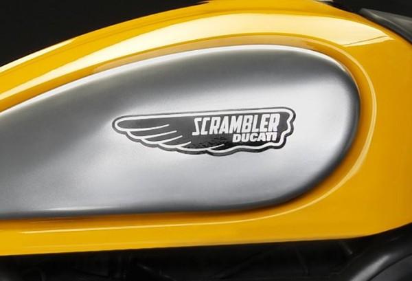 Ducati Satz Tankaufkleber Classic Logos für Scrambler 800