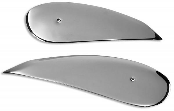 Ducati Original Satz seitliche Tankverkleidungsschalen aus rostfreiem Stahl für Scrambler 800