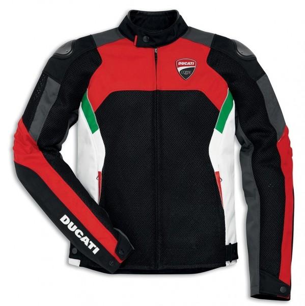 Ducati Corse Textil-Jacke Tex Summer Herren
