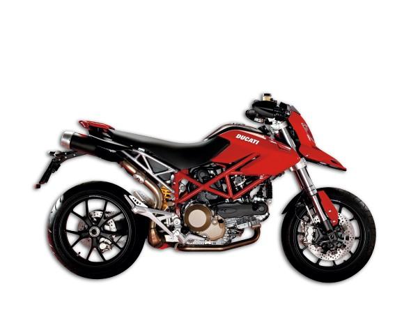 Ducati Motorrad Sammlermodell Standmodell Hypermotard von Maisto 1:18