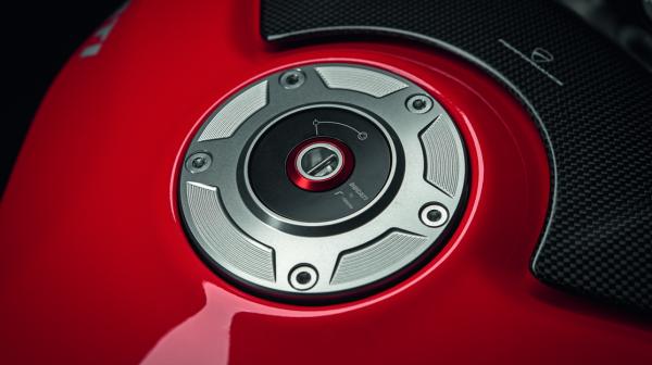 Ducati Original Tankverschluss aus Aluminium Panigale V4