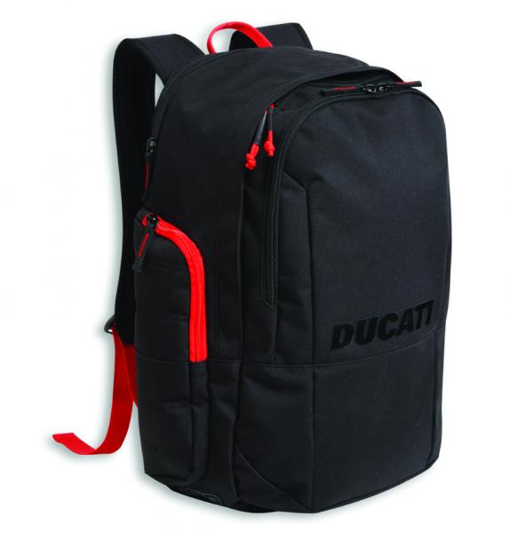 Ducati Original RUCKSACK REDLINE B2 SCHWARZ