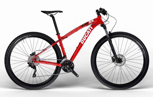 Ducati 330SX Mountainbike MTB 29 Zoll SHIMANO Ducati Red