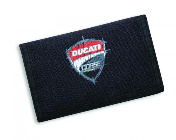Ducati Stoff-Brieftasche SKETCH