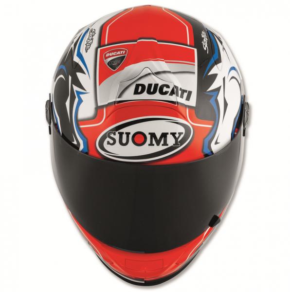Ducati SUOMY HELM DOVIZIOSO REPLICA BLUE ECE
