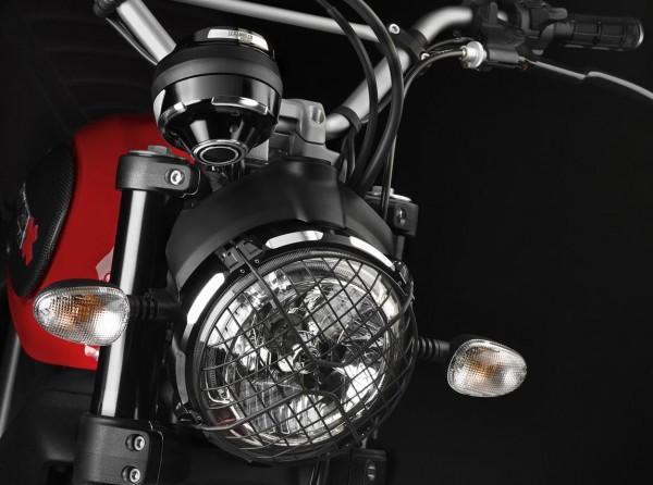 Ducati Original untere Cockpitverkleidung aus Aluminium CNC für Scrambler 800