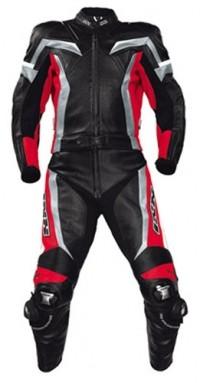 iXS X-Kombi FIRESTROKE schwarz-rot-grau