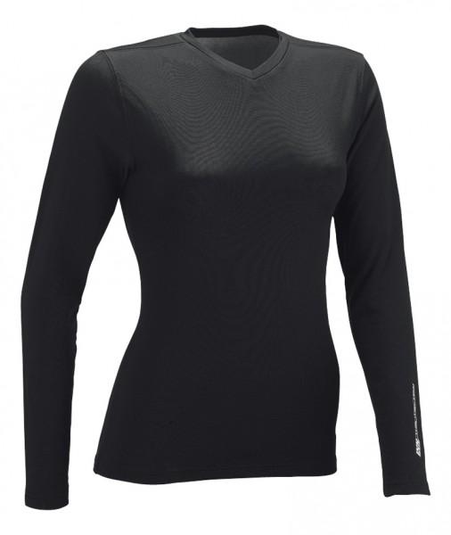 iXS Berana Langarm - Damen Funktions Unterwäsche Shirt schwarz DS