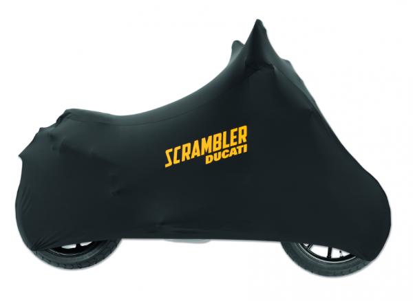 Ducati Motorradabdecktuch für Innenbereiche Scambler