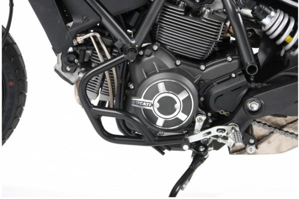 Hepco & Becker Metall Motorschutzbügel Ducati Scrambler 800 ab Bj. 2015 schwarz
