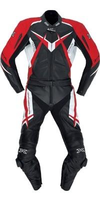 iXS X-Kombi CONQUEST schwarz-rot-weiss