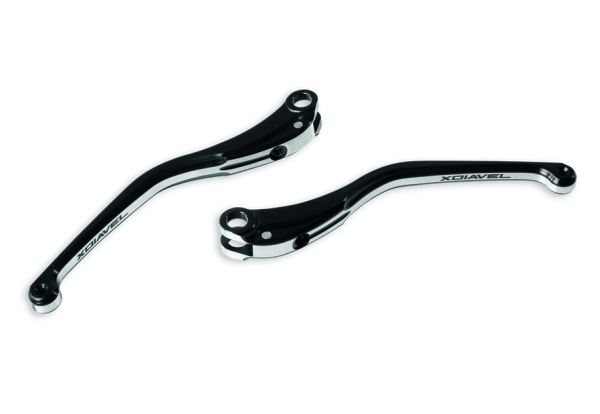 Ducati orig. Paar Brems & Kupplungshebel aus Aluminium XDiavel