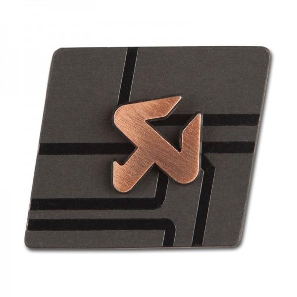 Cut copper pin