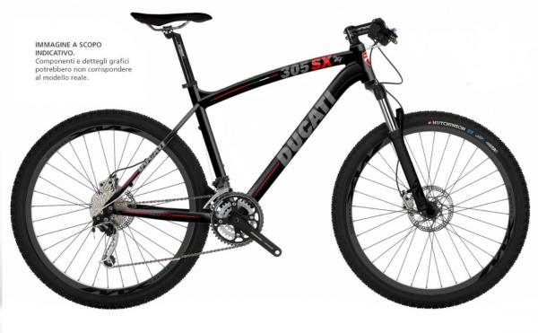 Ducati Mountainbike MTB 305SX 29 Zoll SHIMANO Matt Black