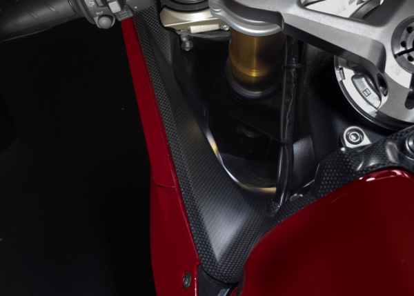 Ducati Original Cover aus Kohlefaser für Luftleitkanäle Panigale 899 / 959 / 1199 S / 1299 S