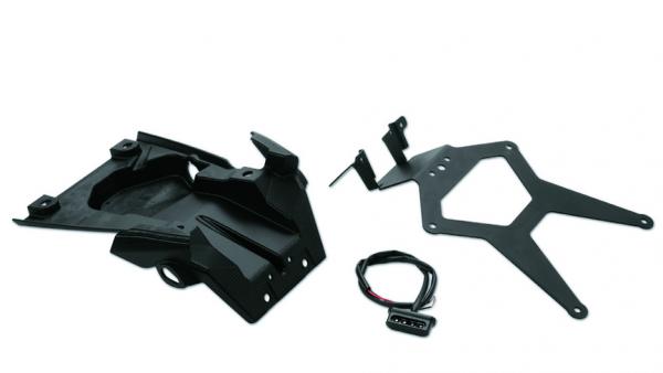 Ducati Original Kit kurzer Heckspritzschutz mit Kennzeichenhalter Monster