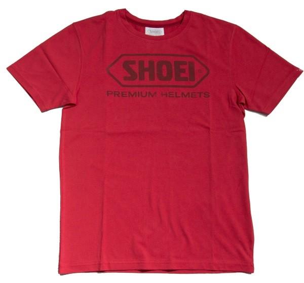 Shoei T-Shirt rot in verschiedenen Größen