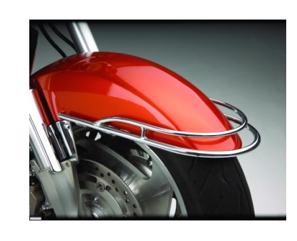 Big Bike Parts Front Fender Rail Schutzblech-Reling verchromt VTX 1800