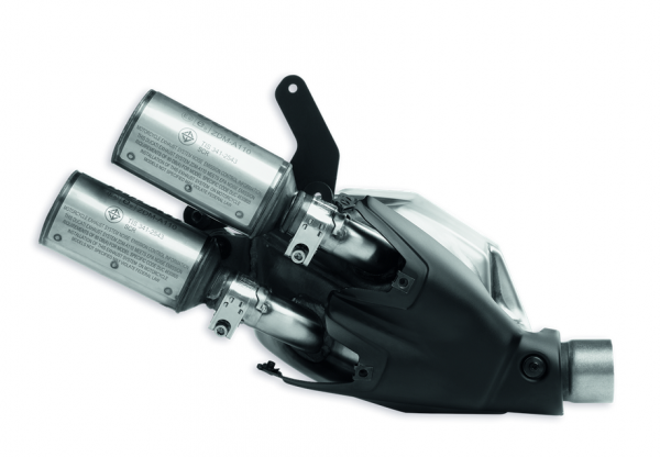 Ducati Original Zugelassener Schalldämpfer Evo-Line OHNE COVER Monster 797