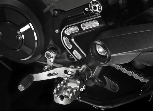 Ducati Ritzelabdeckung aus Aluminium CNC für Scrambler 800