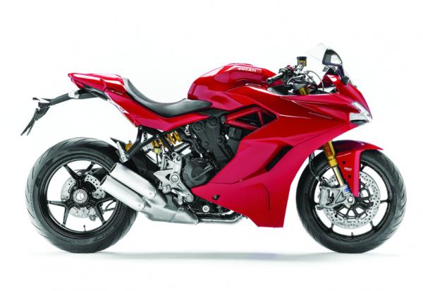 Ducati Original MODELL MOTORRAD SUPERSPORT Rot 1:18