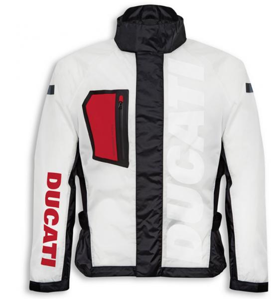 Ducati Original Regen Jacke AQUA Transparent Spidi