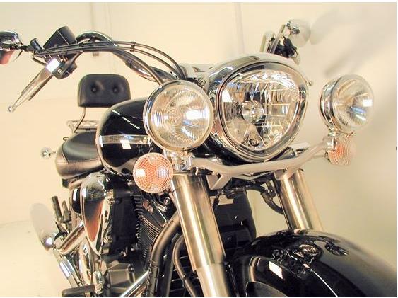 Hepco & Becker Metall Twinlight-Set Yamaha XVS 1300 Midnight Star chrom