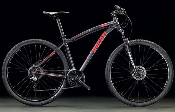 Ducati Mountainbike MTB 310SX 29 Zoll SHIMANO Matt Graphite