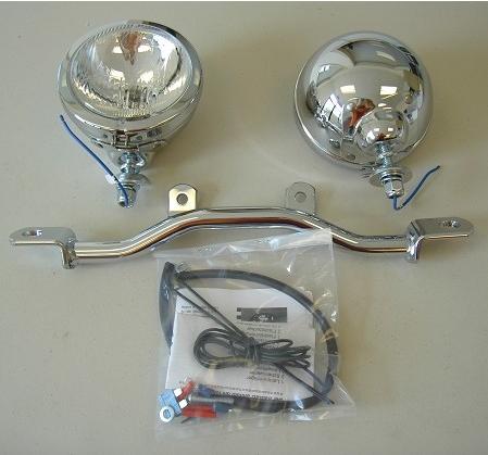 Hepco & Becker Metall Twinlight-Set Yamaha XV 750 / 1100 Virago chrom