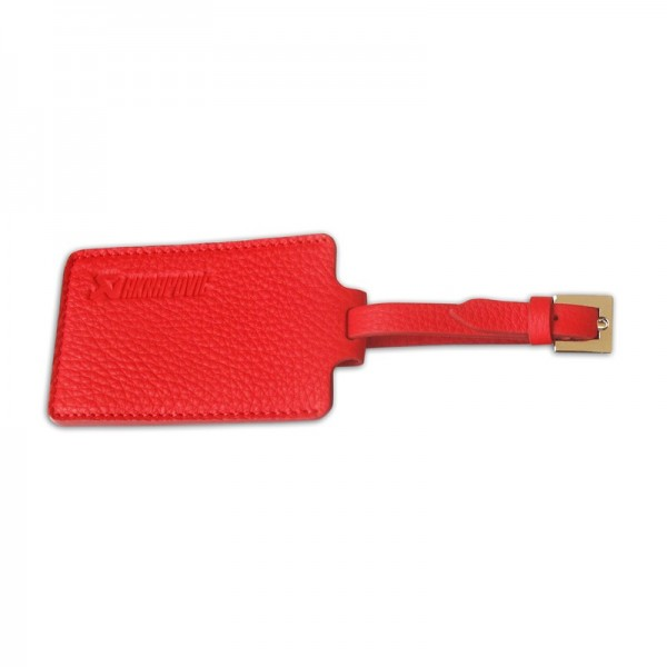 Travel Luggage Tag - red